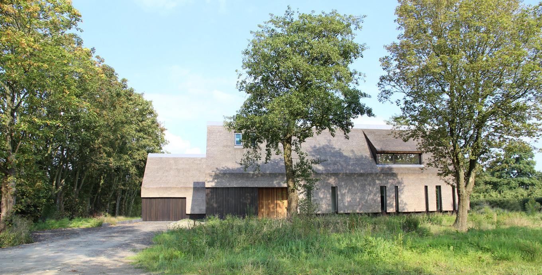 Традиционный дом в нетрадиционном обличии