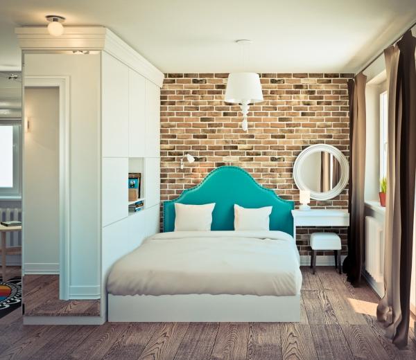 фото дизайн однокомнатной квартиры 30 кв.м