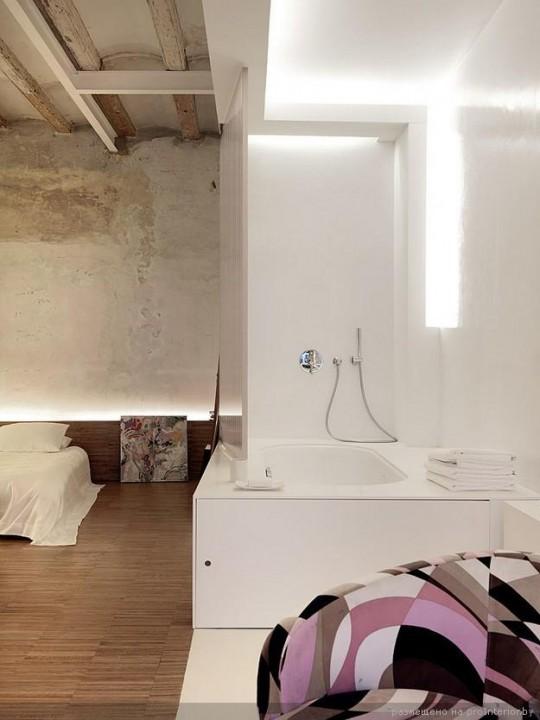 Дизайн интерьера квартиры Crusch Alba от студии Gus Wüstemann