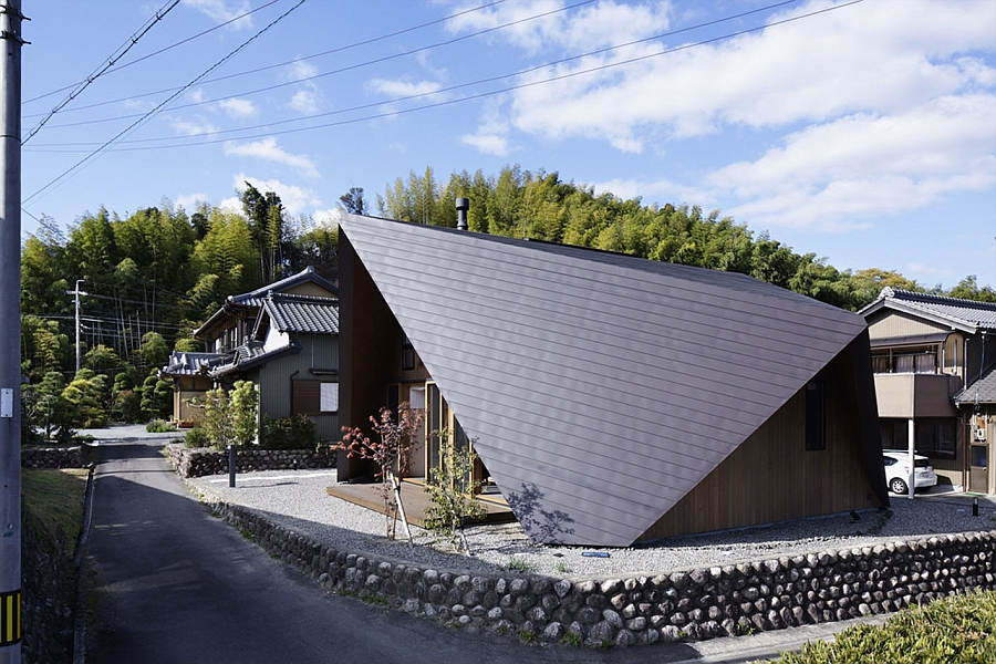 Креативный Origami House от TSC Architects