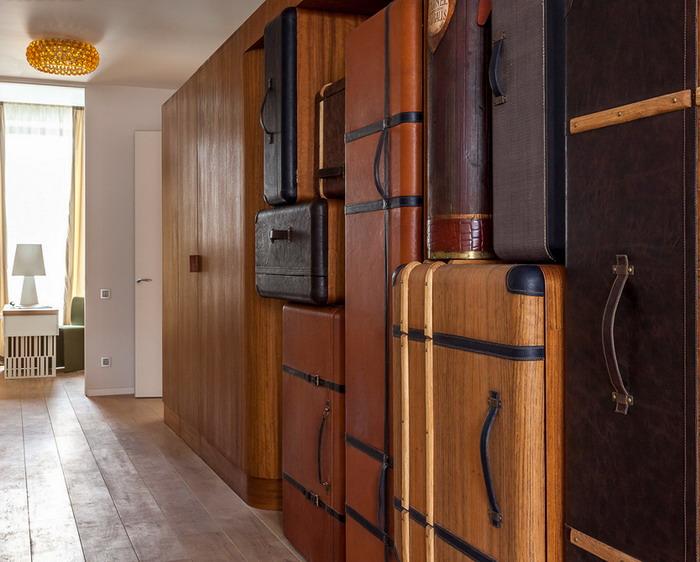 Квартира путешественника в Москве (12 фото)