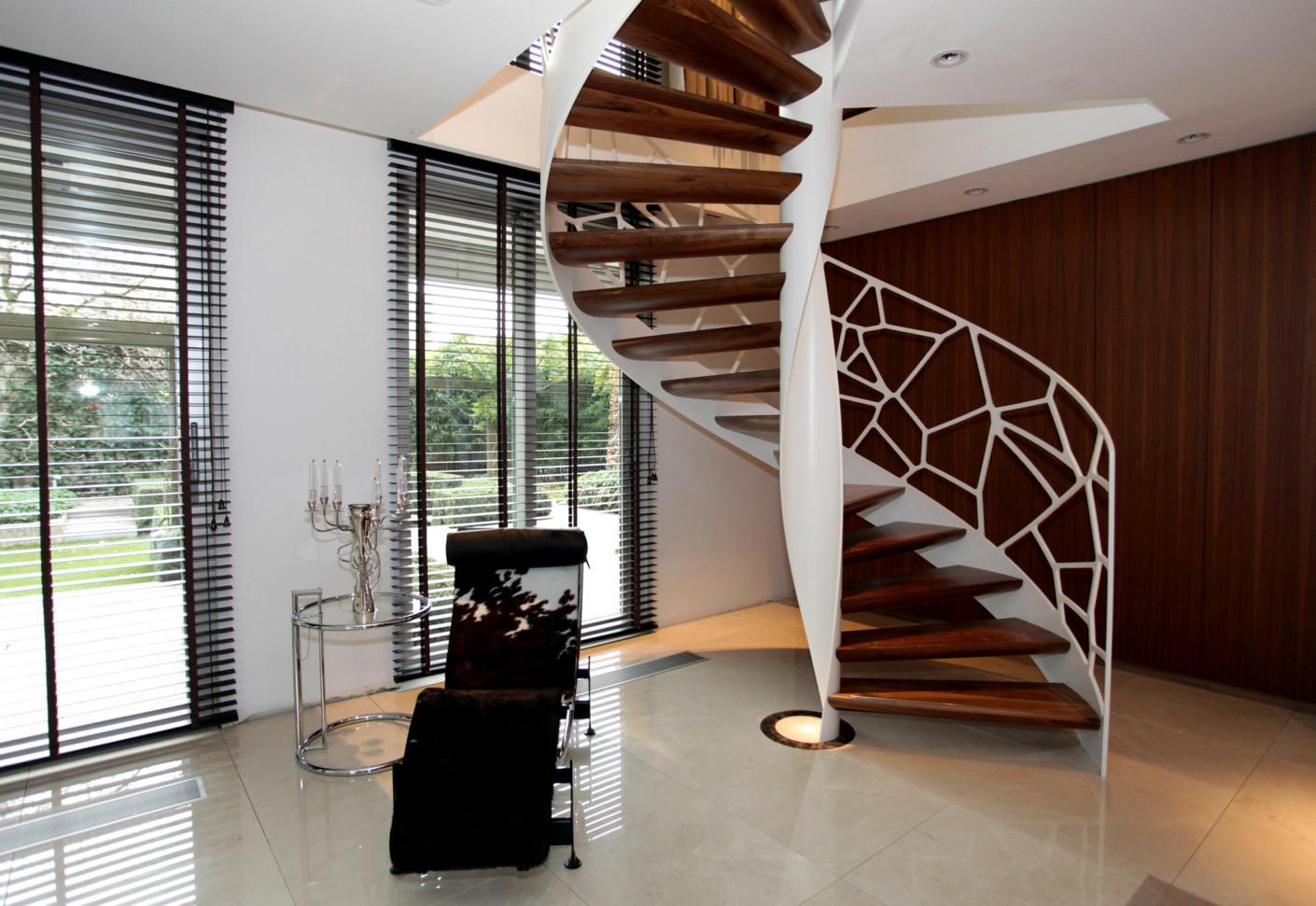 Дизайн лестниц на ферме Eco friendly от EeStairs