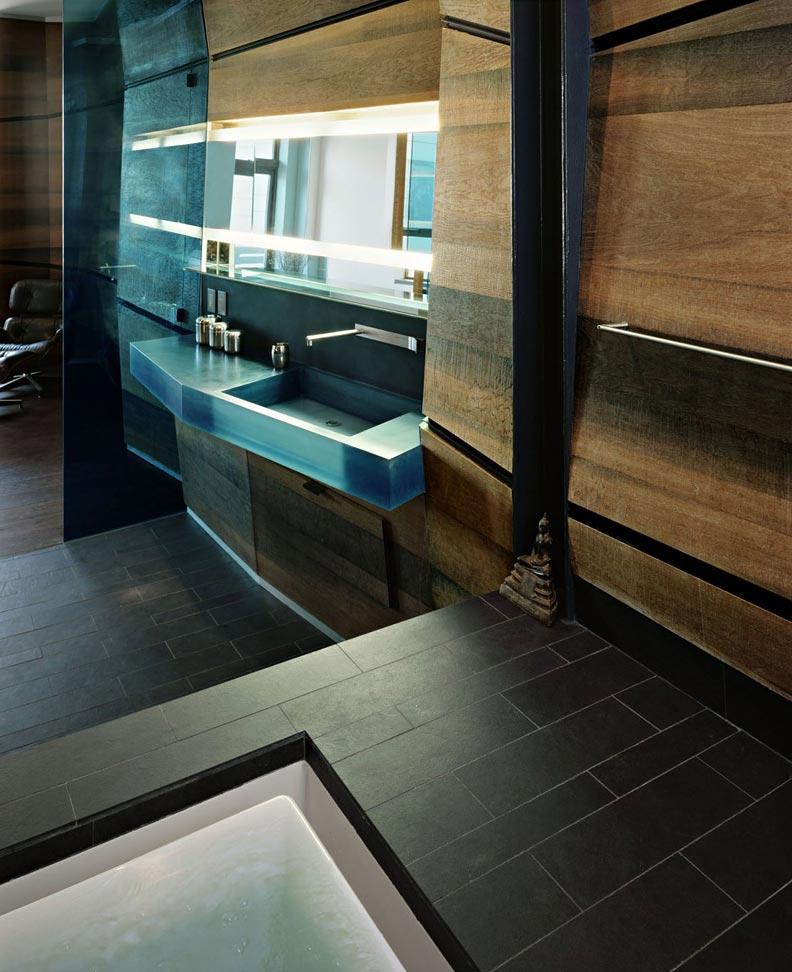 Дизайн интерьера лофта MM от студии C.T. Architects