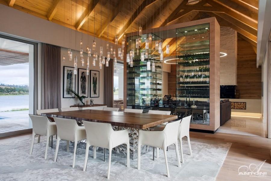 Дизайн интерьера частного дома De Zalze от студии Antoni Associates