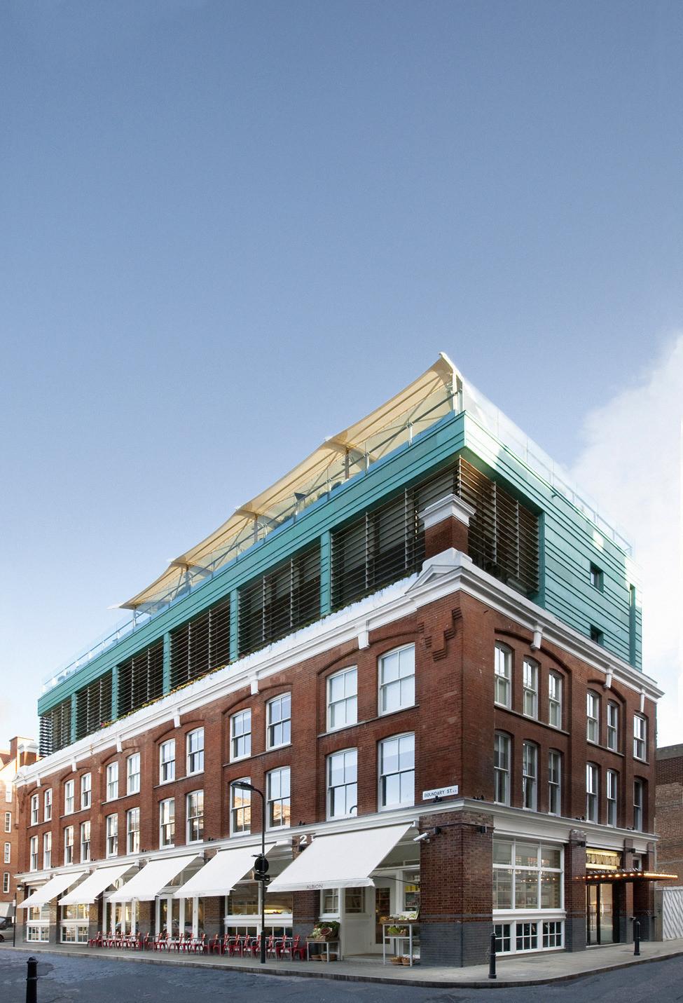 Boundary Hotel - олицетворение роскоши и стиля в Лондоне