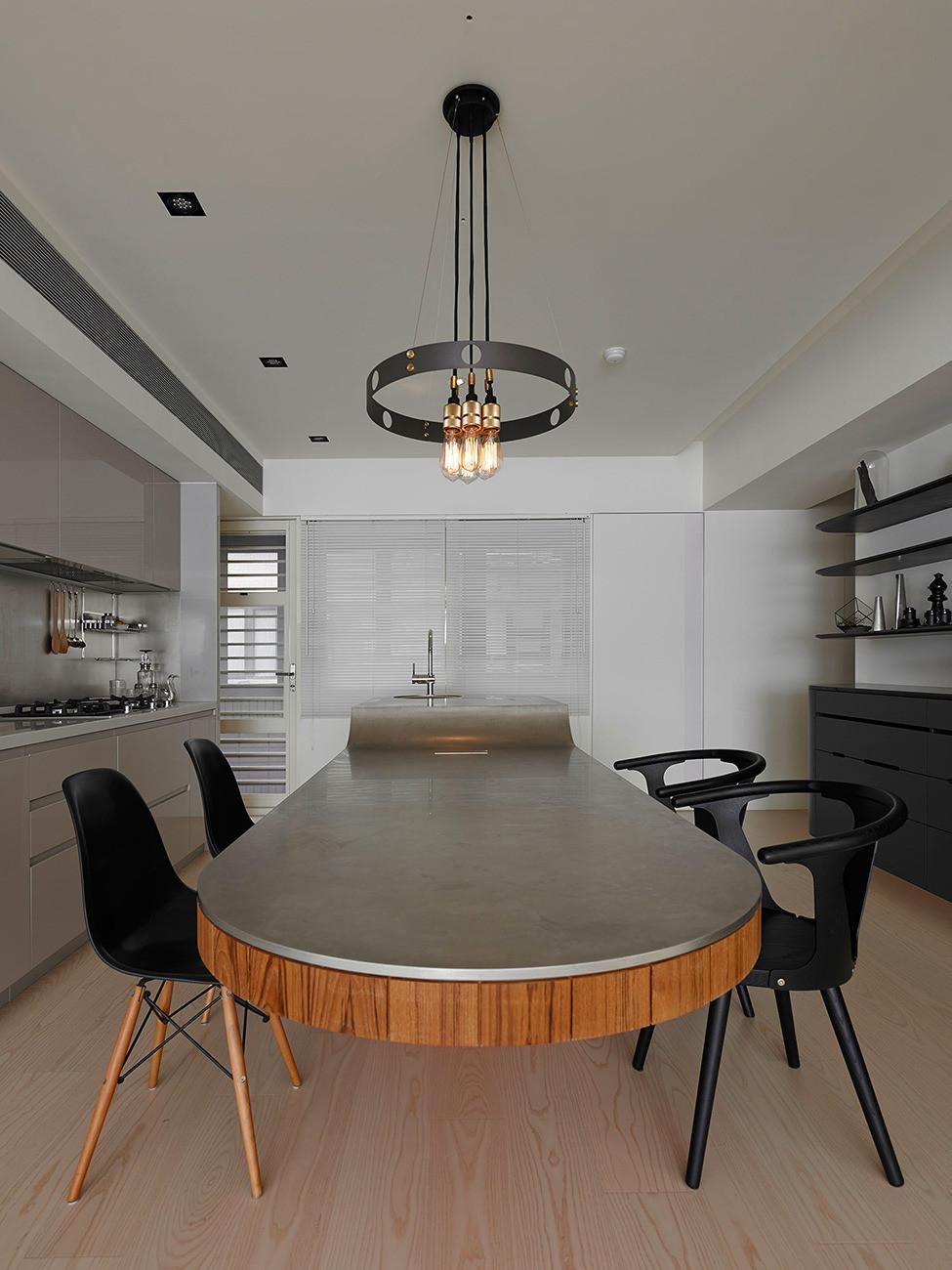 Квартира в Тайбэе от KC Design Studio