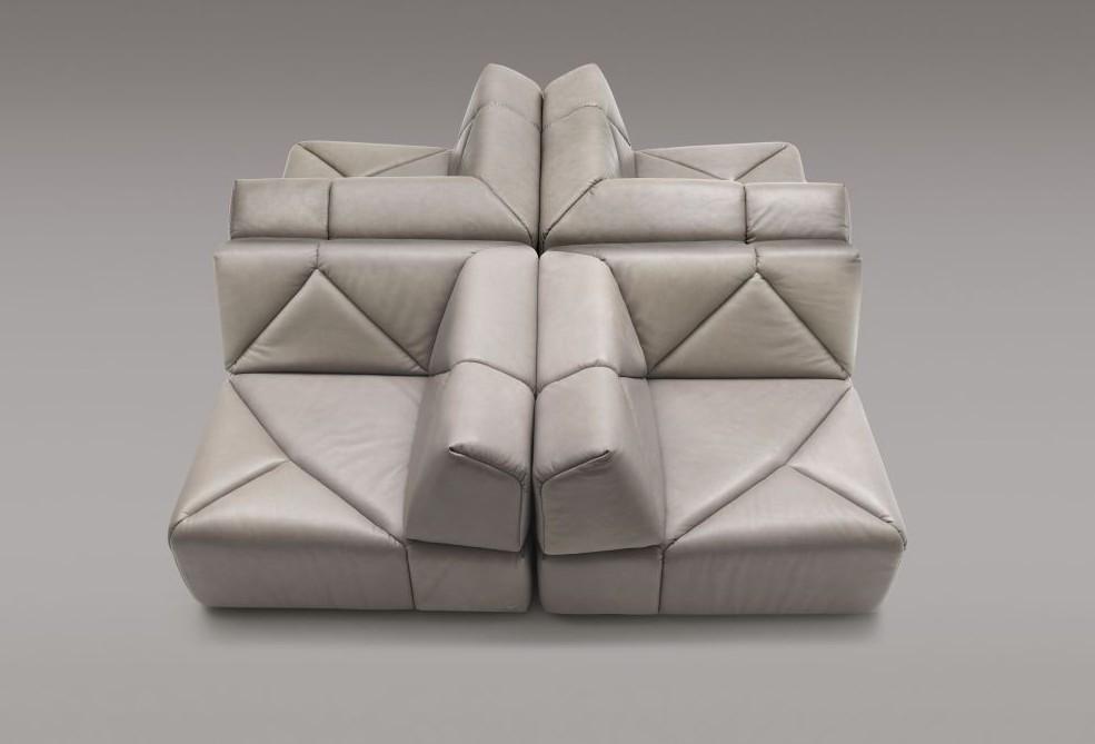 Стильный кожаный диван DS 88 от de Sede