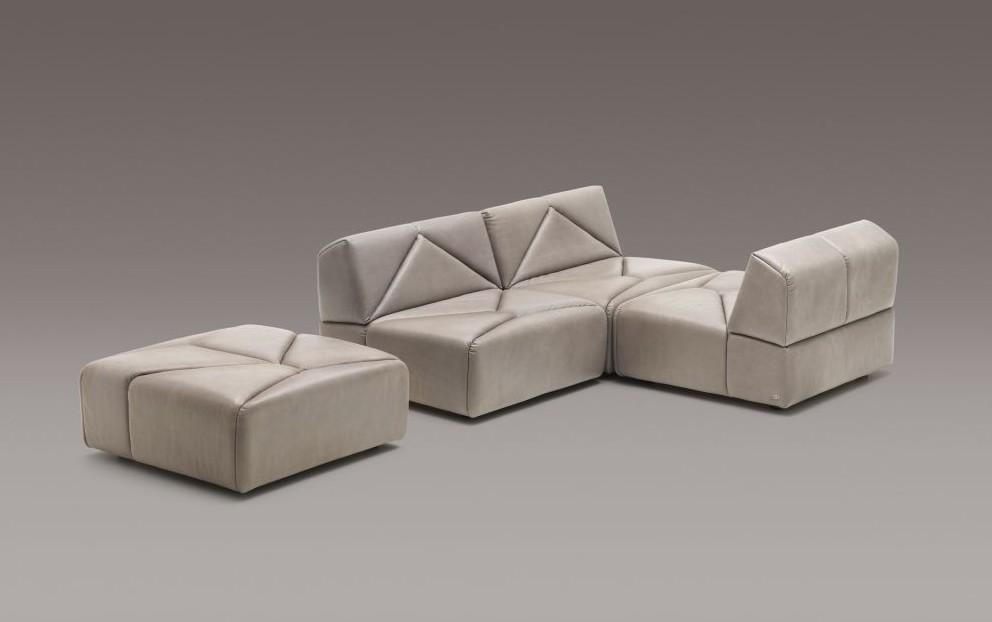 Стильный кожаный диван DS-88 от de Sede