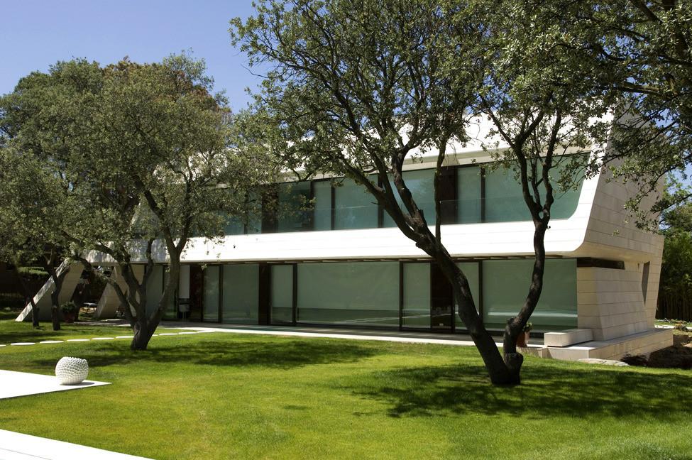 Частный дом в Испании от студии A-cero