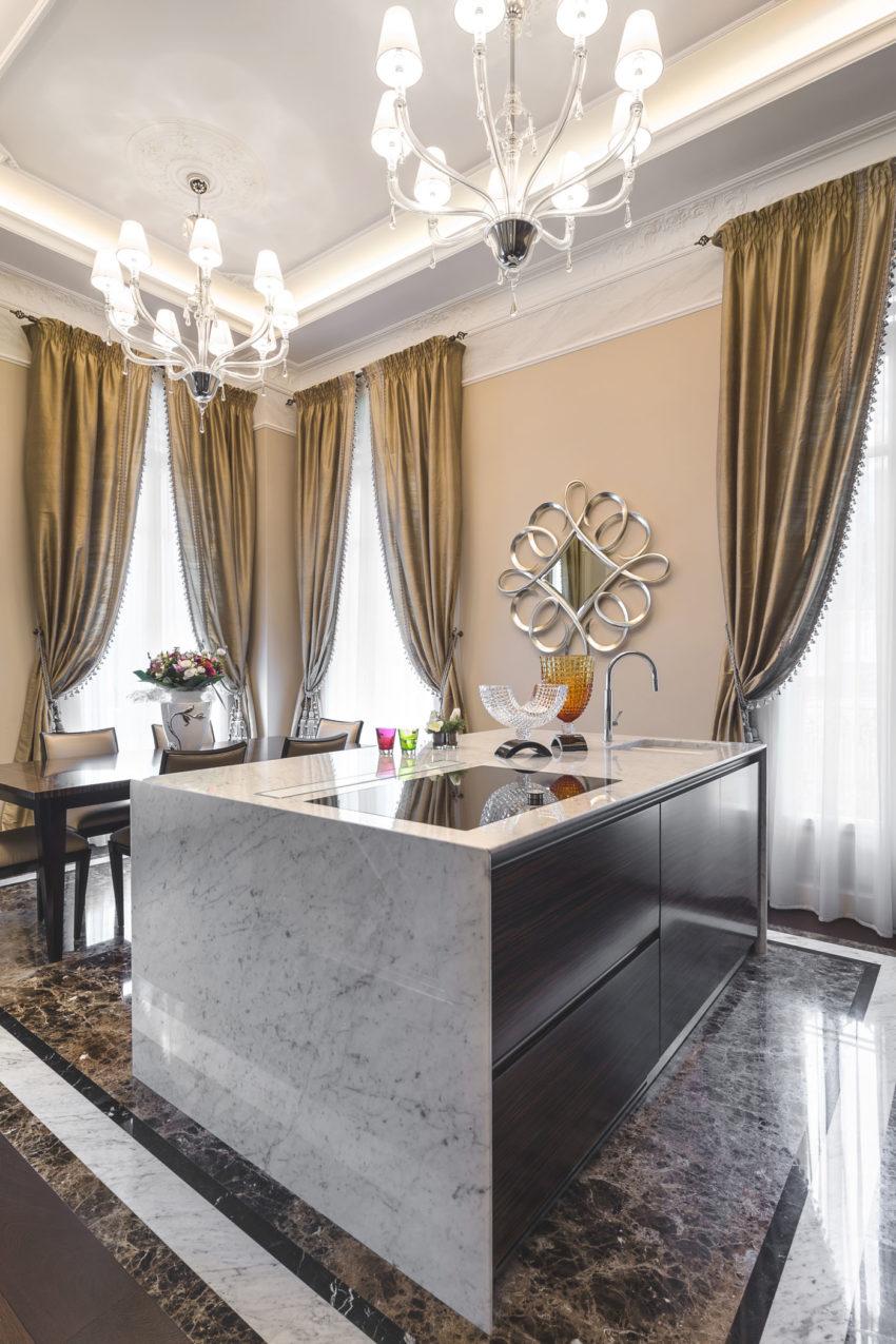 Современный классический интерьер квартиры в Италии от NG Studio