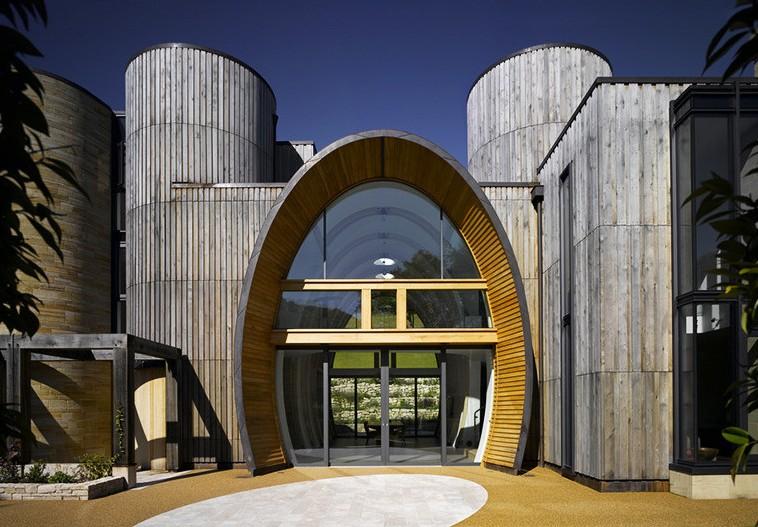 Дизайн частного экологического замка Downley