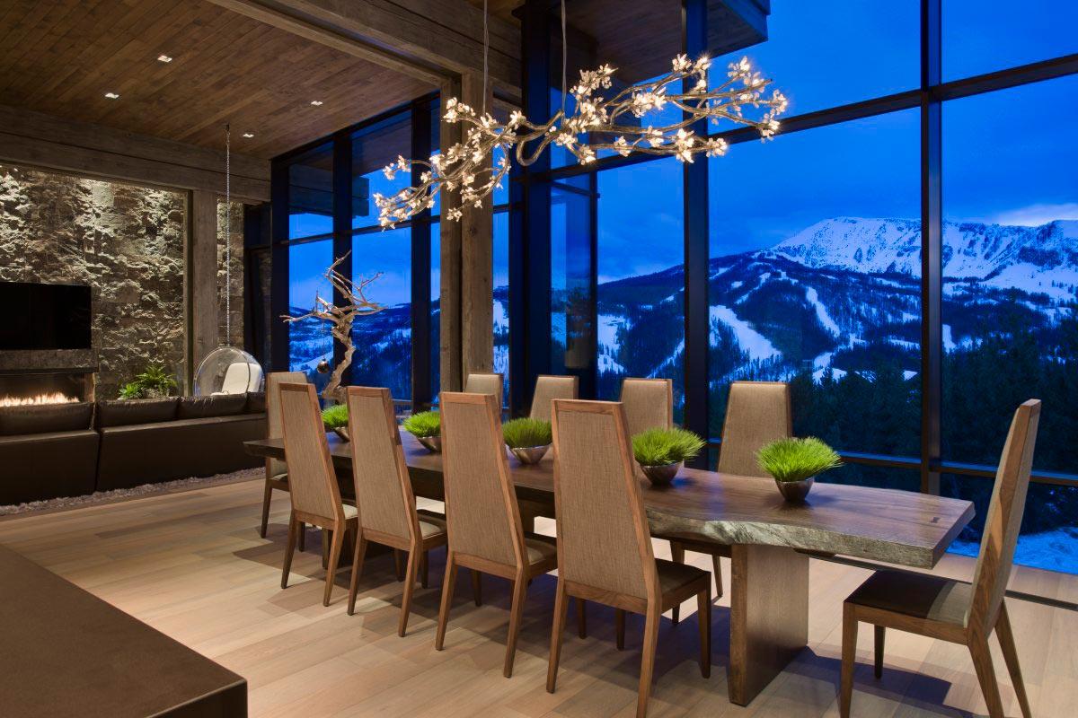 Дизайн современного загородного дома Big Sky от студии LC²