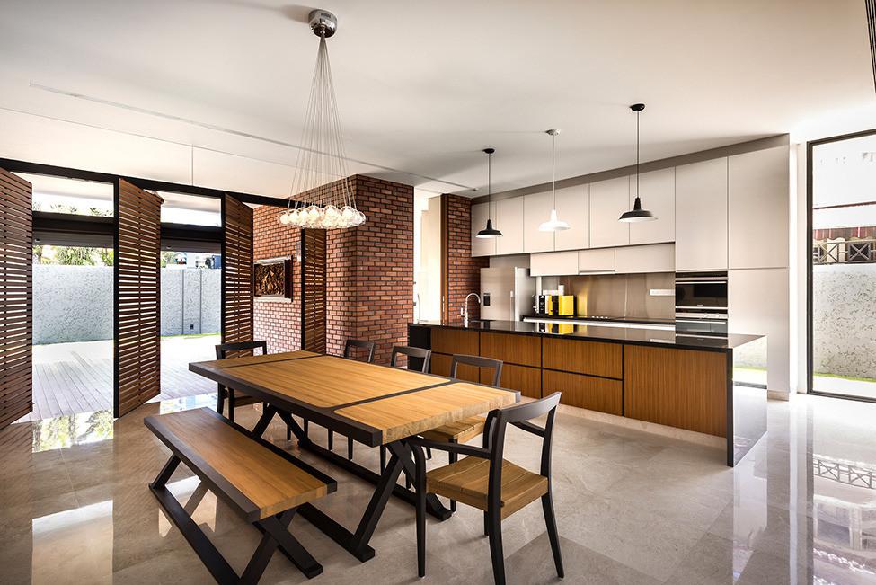 Частный дом 6 Mimosa Road от студии Park + Associates