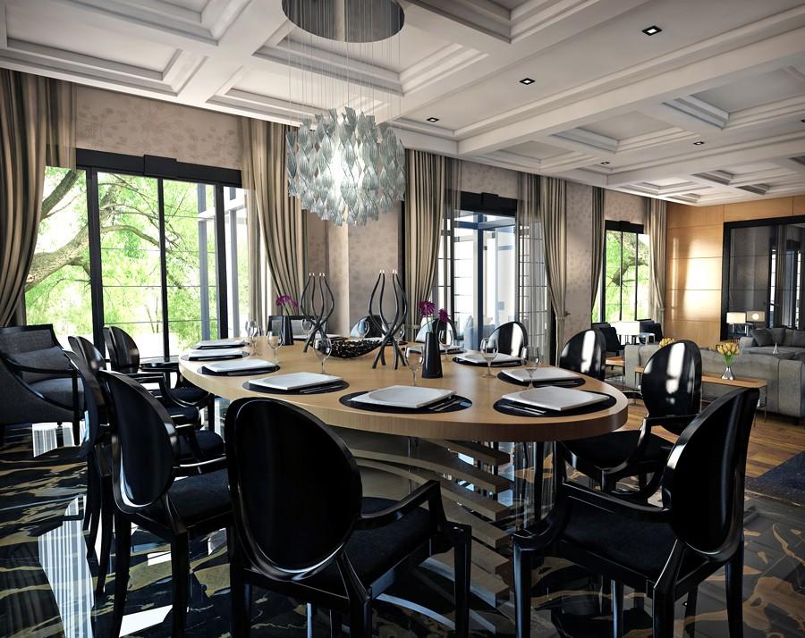 Интерьер гостиной в современном классическом стиле от Özhan Hazirlar